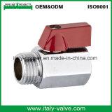 Качество хромированный латунный мини шаровой клапан/небольшой шланг клапана (AV-ми-2008)