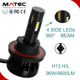 Kit H13 H7 H11 H4 9005 9006 di conversione del faro dell'automobile LED di G6 12V/24V