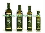 bottiglia dell'olio di oliva di vetro verde di 100ml 250ml 500ml 750ml 1000ml