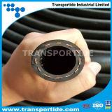 Le flexible haute pression hydraulique du flexible d'huile de Tuyau Flexible de carburant