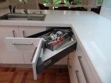 Australia el estilo de cocina de MDF lacado armario (BR-L009)