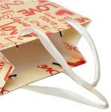 Saco de compra da embalagem do brinquedo com impressão do logotipo & carimbo quente da folha