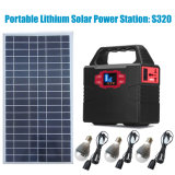generador solar solar del sistema de iluminación del inversor 100W para los aparatos electrodomésticos