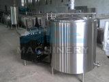 Réservoirs verticaux de refroidissement du lait SUS304 pour la ferme fraîche de vache, polonais sanitaire (ACE-ZNLG-S9)