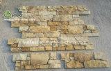 Het populaire Vernisje van het Cement van de Steen van de Aard van de Muur van de Vorm van Z Buiten Gouden Gele