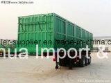 중국 제조에서 덤프 트럭의 반 트럭 트레일러
