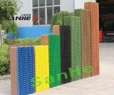 고능률에 있는 가장 큰 제조자 증발 냉각 패드 벽