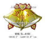 O balão de NChristmas Bell (SL-A150) ew ESCONDEU a única lâmpada--D2/35W