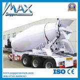 Tri-Alxe V Semi Aanhangwagen van de Tank van het Cement van de Silo van het Type de Bulk, de Droge BulkOplegger van het Vervoer van het Cement