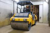 9 Tonnen-volle hydraulische doppelte Trommel-Straßen-Rolle (JM809H)