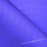 Couro artificial sintético Textured do plutônio do Weave para o saco automotriz da decoração