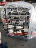 A linha de produção completa de gaze médicos fazendo a máquina