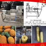 6-12PCS/Min商業パイナップル皮および芯を取る機械
