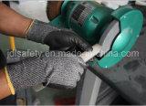 Работа Anti-Cut вещевым ящиком со стальным волокна (ND8097)