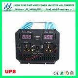 UPS 1000Wの15A充電器が付いている純粋な正弦波のコンバーター(QW-P1000UPS)