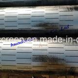 Tubo di rivestimento scanalato esatto dello schermo di AISI 304/316 con la certificazione di ISO/Ce