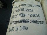 Bolsa de papel de Kraft del grado de la exportación 25kg que empaqueta el cloruro de amonio industrial