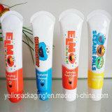 Imballaggio cosmetico del tubo molle della plastica laminata del tubo del rossetto