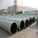 Produção de tubos de fibra de vidro para drenagem de água Uso