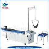 Ausrüstungs-manuelles zervikales und lumbales Zugkraft-Bett