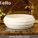 Saniary ware único lavatório de cerâmica artesanal (C-1070)