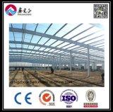 Atelier de structure métallique de modèle de construction (BYSS011902)