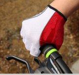Задействуя перчатки велосипеда перчаток перста перчаток наполовину -