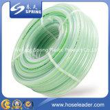 Зеленый PVC усилил сад/воду/усиленный шланг