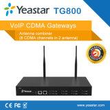Yeastar 8 de Gateway van VoIP CDMA van de Kaart van de Havens SIM van UMTS (NeoGate TG800)
