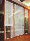 Eingebautes blindes Aluminiumlegierung-Fenster