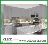 Мрамор любит искусственная верхняя часть кухни камня кварца