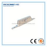 Portes en aluminium économiseuses d'énergie de tissu pour rideaux de profil de Roomeye avec le certificat de la CE