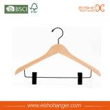Gancho de roupa personalizado sem escorregar preto para secar