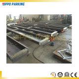 Parking électrique de quatre postes ; Système simple de stationnement de véhicule