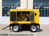 500kw/625kVA Water Cooled Cummins Mobile Trailer Diesel Genset avec 6 Hours Base Fuel Tank (PFC625)