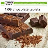 Kleine Schokoladen-Hersteller-Familie verwendete Schokolade, die formenmaschine mildert