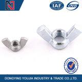 En acier inoxydable de haute qualité l'écrou papillon DIN315