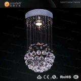 Lampe en cristal moderne de plafond pour le projet Om6823 d'hôtel