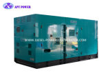 gerador do motor de 450kVA 360kw Vman e do diesel do alternador da potência de Apartamento