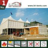 段階が付いている25X60mのサーカスの大テントのテントの把握1200人のシート