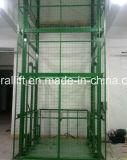 Almacén de carril guía ascensor rampa hidráulica de elevación con CE