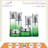 Klage-Flaschen und Gläser mit verschiedenen Schutzkappen