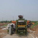 Maschine der Kandare-Qty5-15 und der Straßenbetoniermaschine/Straßenbetoniermaschine-Betonstein, der Maschine herstellt