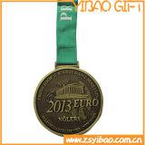 Esportes promocional Bronze medalha de monograma Survenir dons (YB-MD-46)