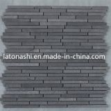 La mosaïque de basalte fournit des carreaux pour le mur