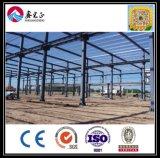 Structure métallique légère de Xgz pour le parking/entrepôt/atelier (ZY207)