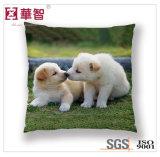 Ammortizzatore quadrato della decorazione stampato cane