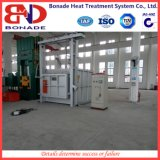 Fornalha de caixa industrial para o tratamento térmico