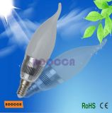 SMD LED Lámpara de vela, E14 bombilla LED 3W (BC-BCD-3*1W)