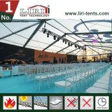 Estrutura misturada da barraca para eventos elevados da classe